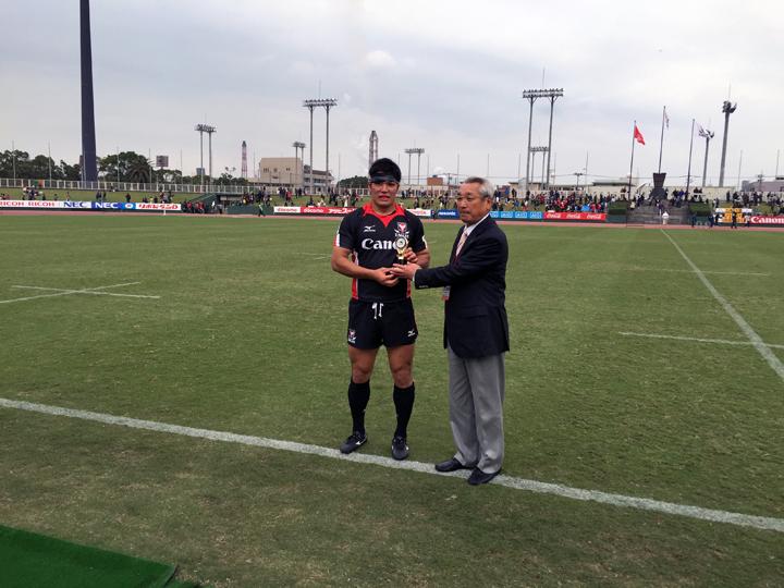 ラグビートップリーグ第3節(コカ・コーラvsキヤノン)