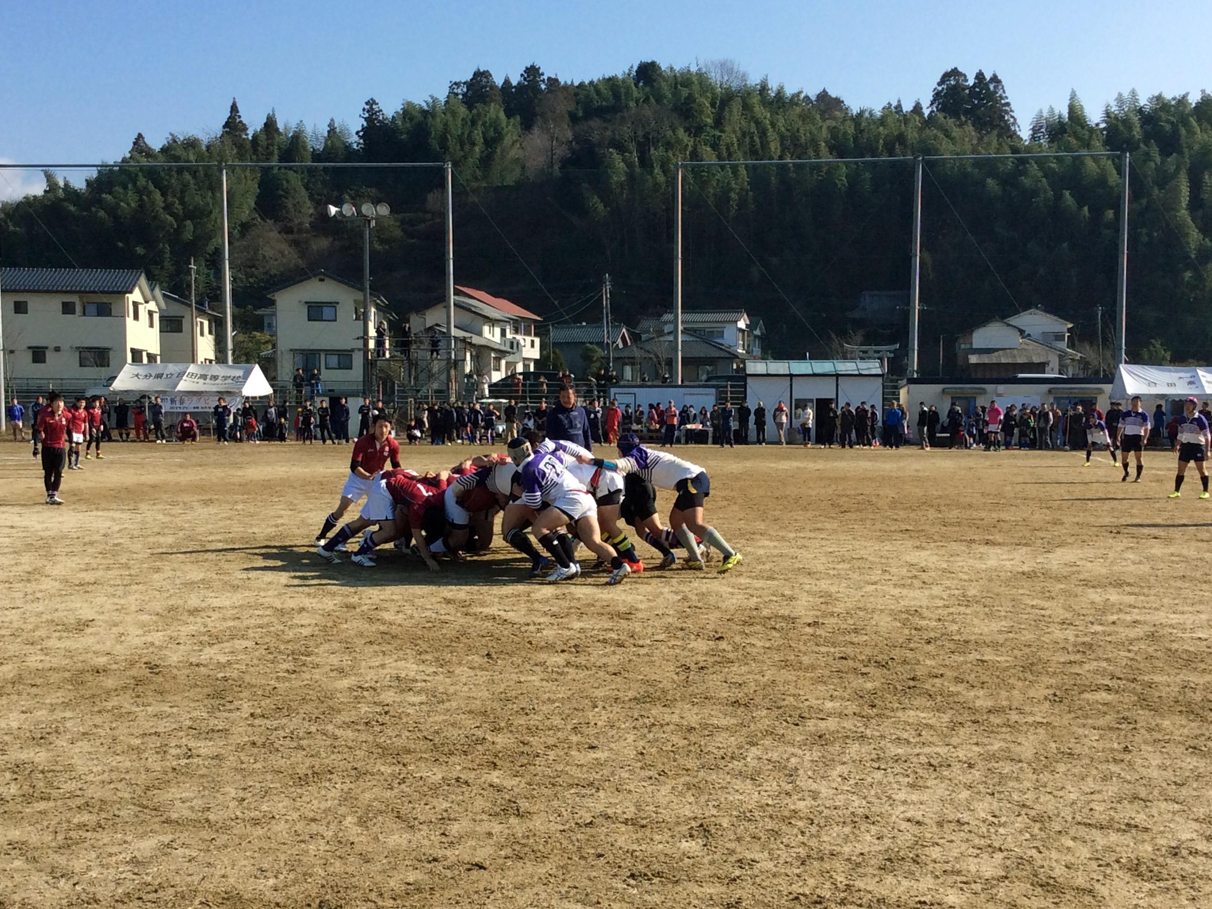 新春 日田ラグビー祭