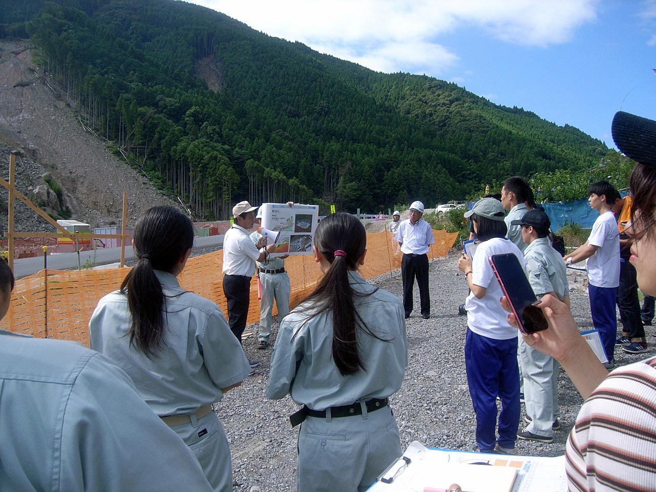 平成30年度 防災シンポジウムin日田 学生フィールドツアー