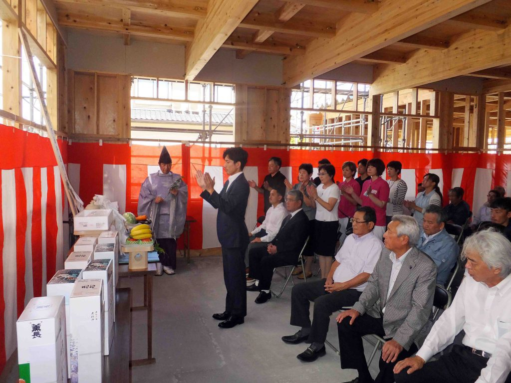 五反田病院有料老人ホーム 上棟式