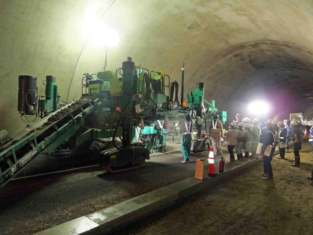 ひびきトンネル現場見学会