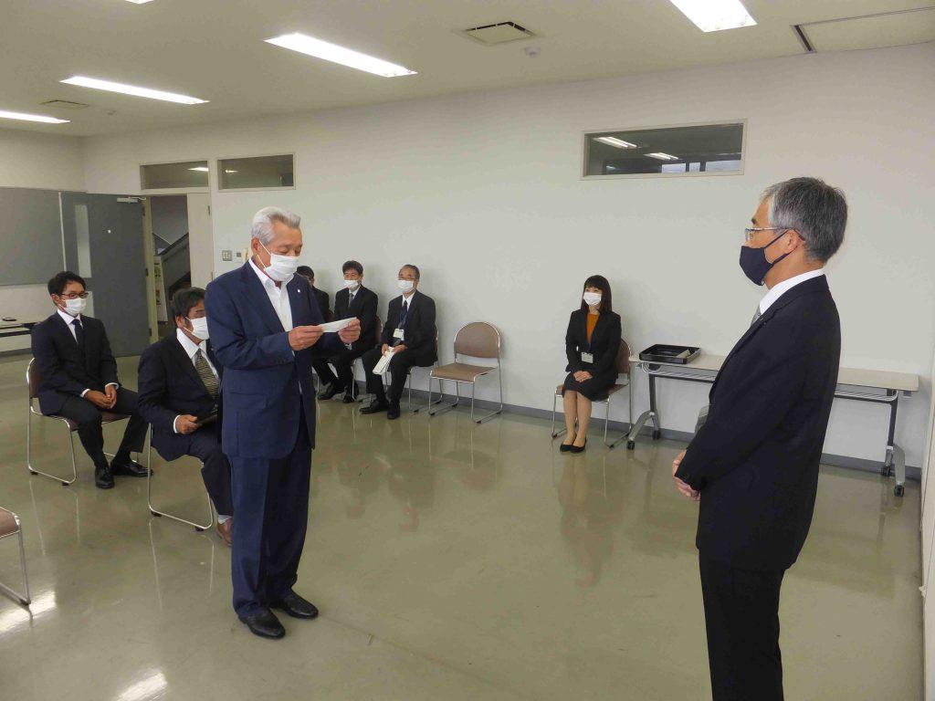 日田土木事務所長表彰