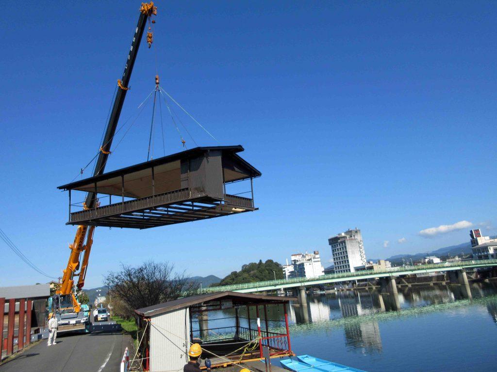 屋形船改修工事 完成